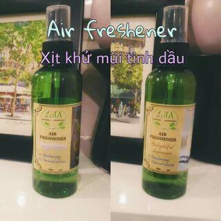 Xịt phòng tinh dầu khử mùi – Air freshener
