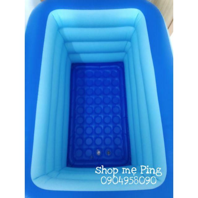 Bể bơi 4 tầng 1m4 cao 75cm cho bé
