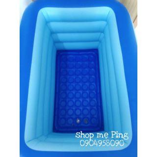 Bể bơi 4 tầng 1m4 cho bé