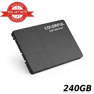 Ổ cứng SSD 240gb Colorful SL500 tốc độ 540 490Mbs NWH phân phốI thumbnail
