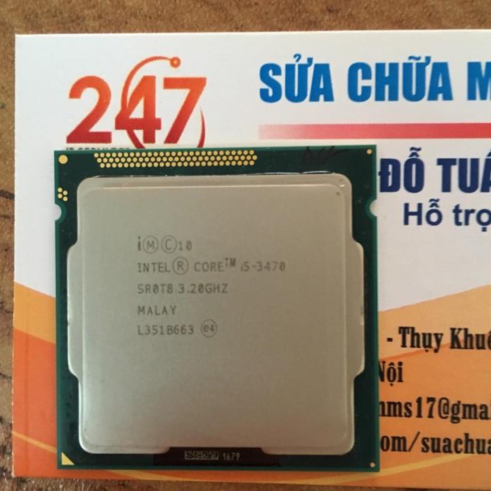 CPU chip intel core i5 3470 Giá chỉ 1.150.000₫