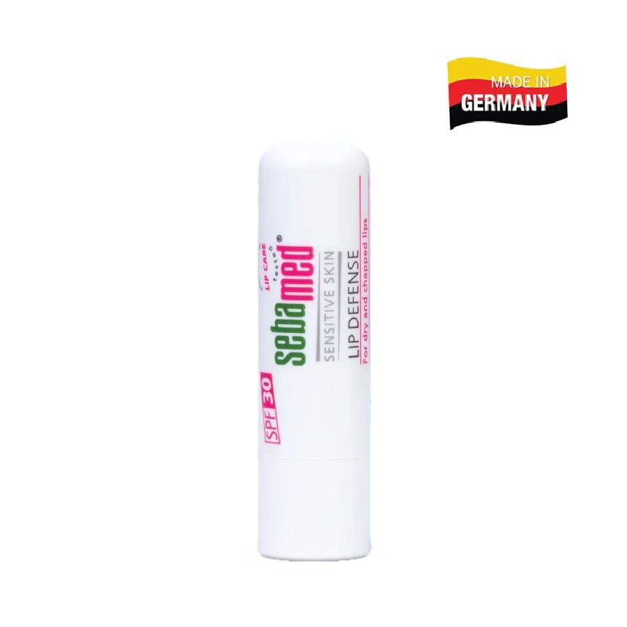 Son dưỡng bảo vệ, chống khô và chống nứt môi Sebamed Sensitive Skin Lip Defense (4.8g)