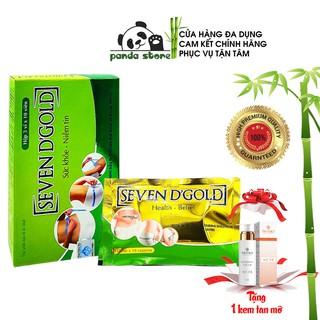 Viên uống giảm cân cấp tốc Seven Days Gold – Seven D'Gold giúp thải mỡ bụng nhanh chóng giữ dáng tại nhà an toàn.