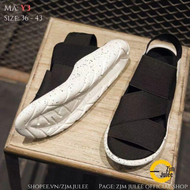[y3] Sandal Ulzzang nam nữ Y3 đế 3D - siêu nhẹ và êm - loại cao cấp