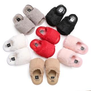 Giày bông đế mềm dành cho bé