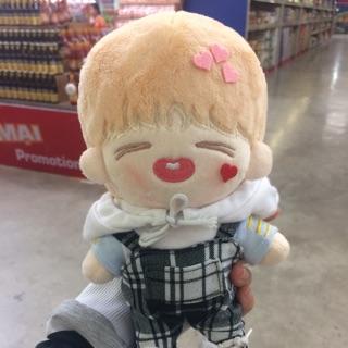 [BTS Fansite Doll] Only doll Peach Hope con papa J-Hope (không kèm outfit)