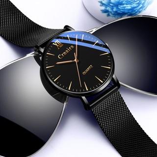 Đồng hồ nam CRNAIRA CR01 dây thép nhuyễn tuyệt đẹp