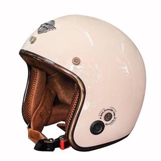Mũ bảo hiểm 3/4 Napoli Sh Ruby - New (màu kem)