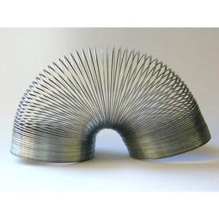 Đồ chơi cầu vồng lò xo vui nhộn slinky giải tỏa căng thẳng chất liệu kim loại