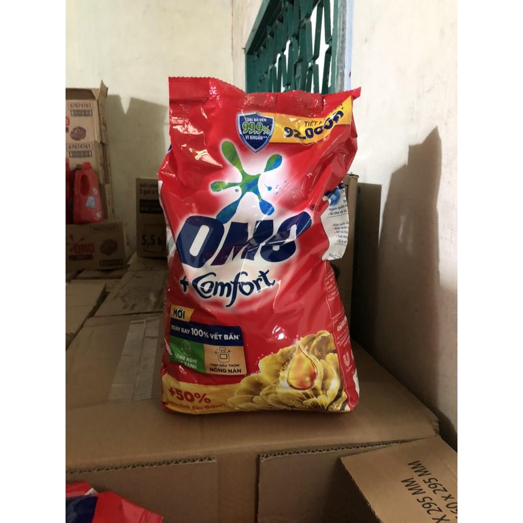 Bột giặt Omo hương comfort tinh dầu thơm 5.5kg
