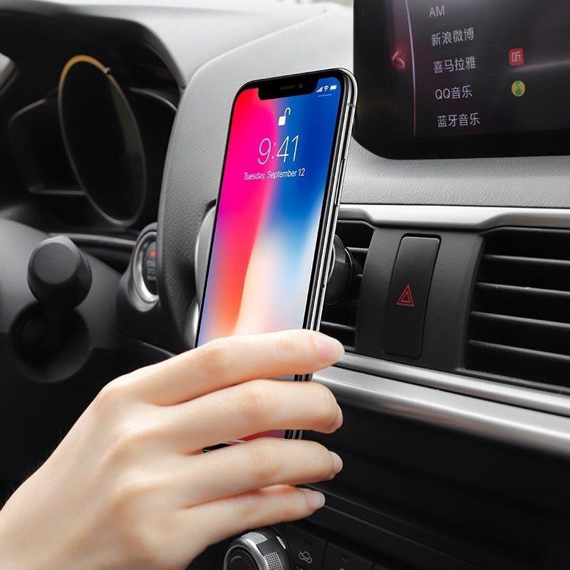 Bộ đế hít nam châm CHÍNH HÃNG HOCO giá đỡ điện thoại trên xe hơi ô tô