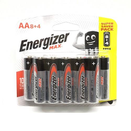 Pin Energizer các loại tiểu AA / đũa AAA chính hãng