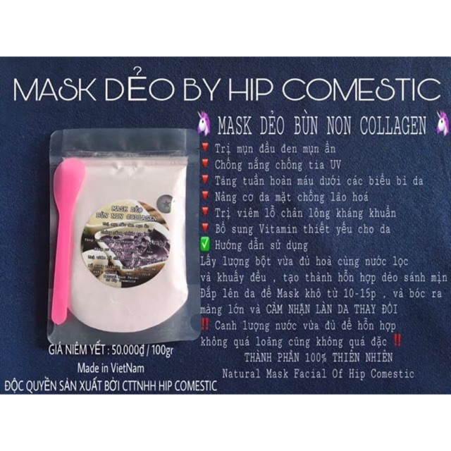 MASK DẺO BY HIPCOSMETIC