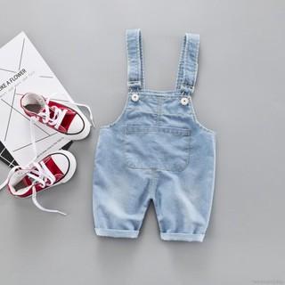 Quần yếm jean co giãn thời trang cho bé