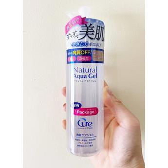 Tẩy da chết Cure Natural Aqua Gel Nhật Bản chính hãng nội địa