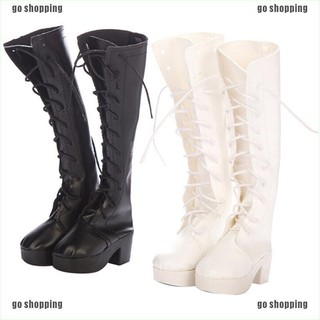 {go shopping}1 Pair doll high boots shoes for 60cm doll 1/3 bjd dolls party daily shoes