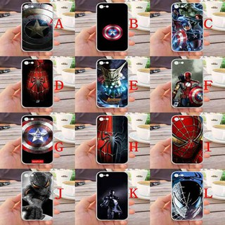 For iPhone 7/8 Avengers Silicone Phone Case