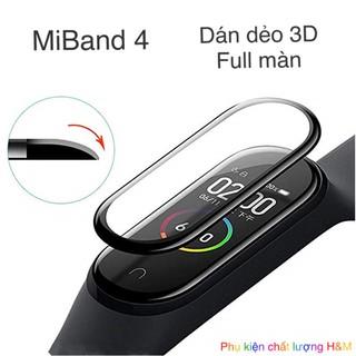 [Mã ELORDER5 giảm 10K đơn 20K] Mi Band - Miếng dán 3D full màn miband 4 / miband 5