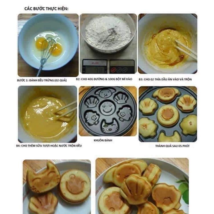 [HÀNG LOẠI 1] Máy nướng bánh hình thú magic bulet [BẢO HÀNH 12 THÁNG]