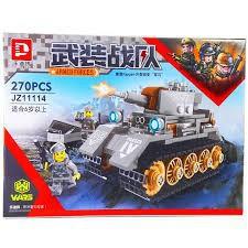 Rẻ Hủy Diệt-Lắp ráp ZJ11114: Xe tank quân đội