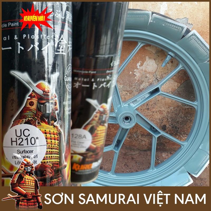 Sơn lót bề mặt UCH210 - Sơn xịt Samurai