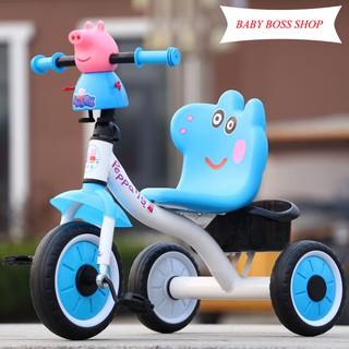Xe đạp 3 bánh trẻ em hình lợn Peppa Pig