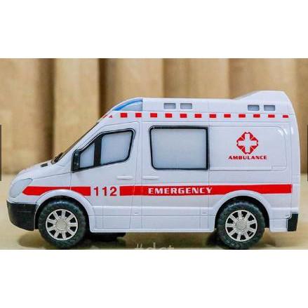 Trò chơi xe cấp cứu dùng pin chạy tự động dành cho bé trai và gái trên 1 tuổi, DO...
