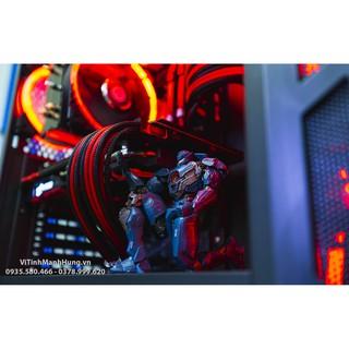 [Mã ELFLASH5 giảm 20K đơn 50K] Dây nguồn nối dài 8 pin VGA bọc lưới nhiều màu.