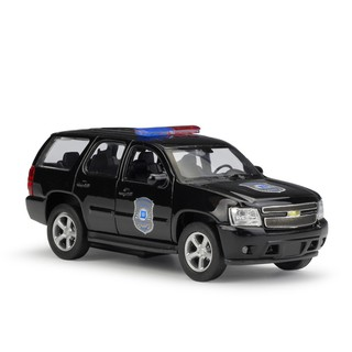 Welly 1:36 2008 CHEVROLET Tahoe Police Car Diecast Model Car