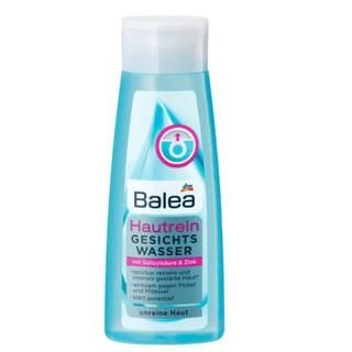 Toner, nước hoa hồng Balea soft and clear cho da mụn