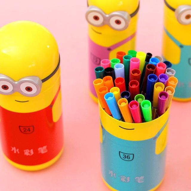 Hộp bút màu nước minion - 3334102 , 415188872 , 322_415188872 , 50000 , Hop-but-mau-nuoc-minion-322_415188872 , shopee.vn , Hộp bút màu nước minion