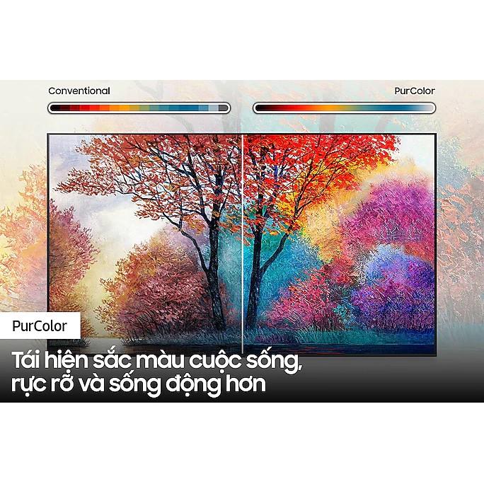 [Mã ELMALL1TR giảm 5% đơn 3TR] Smart Tivi Samsung Crystal UHD 4K 50 inch UA50AU7700KXXV - Miễn phí lắp đặt