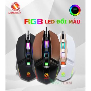 Chuột chuyên game Limeide X2 led RGB Chính hãng -dc3416 thumbnail
