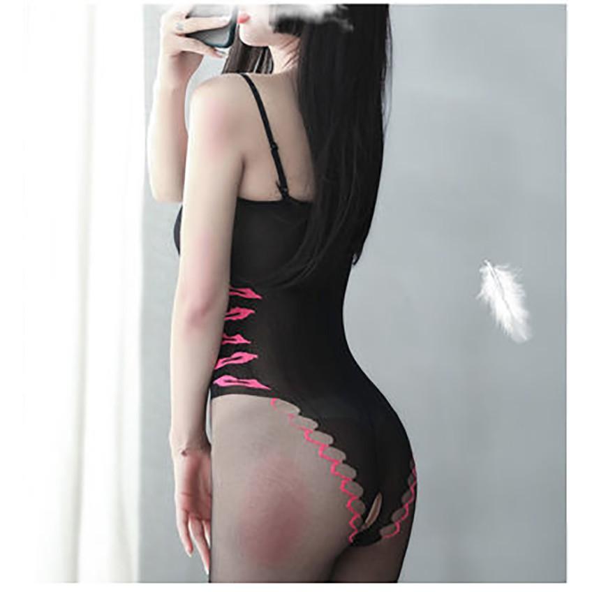 Đồ Ngủ Sexy Liền Thân Cosplay Gợi Cảm