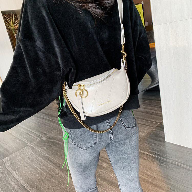 Túi xách nữ LOKADO túi bao tử túi đeo bụng cực chất-Hy045