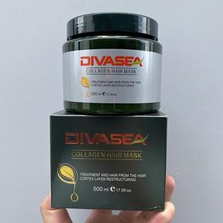 Hấp phục hồi chuyên sâu Divasea Collagen Hair Mask 500ml thumbnail