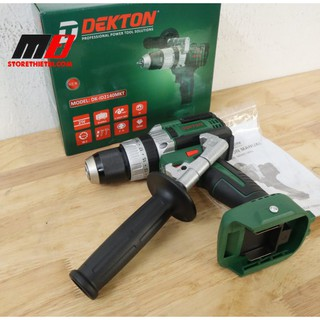 Thân máy khoan 3 chức năng 13mm Dùng pin 21V Dekton DK-ID2140MKT ( Brushless Không chổi than Có búa