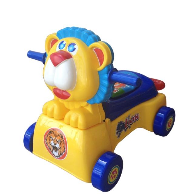 Xe tập đi sư tử 3 trong 1 có nhạc hàng việt Nam an toàn có điều chỉnh nhanh chậm