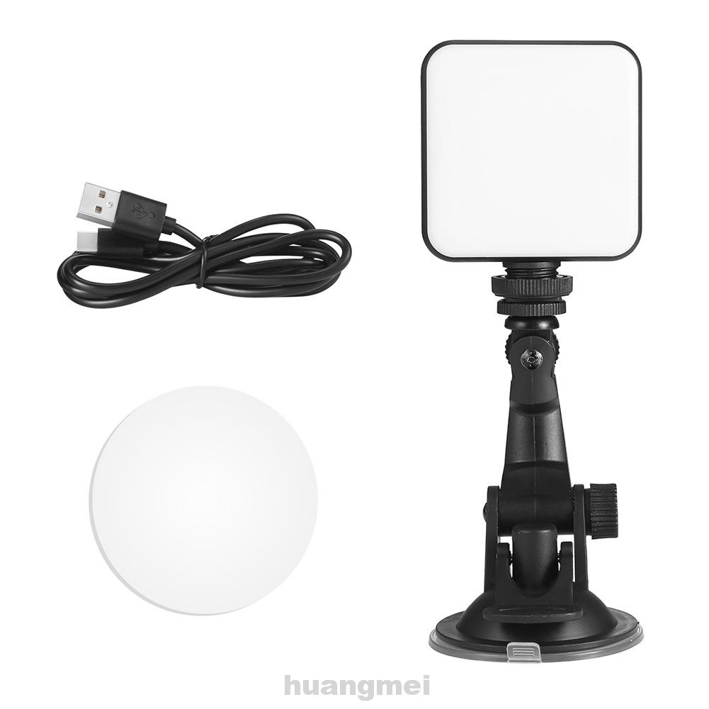 Battery Operated Makeup Dimmable USB Rechargeable Photography With Adhesive Video Conference LED Fill Light