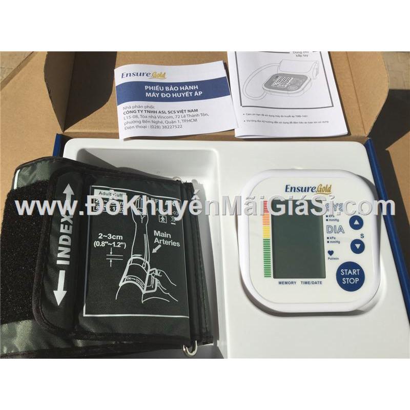 Máy đo huyết áp bắp tay Ensure Gold TMB-1491, kèm pin. - 3354741 , 973462386 , 322_973462386 , 275000 , May-do-huyet-ap-bap-tay-Ensure-Gold-TMB-1491-kem-pin.-322_973462386 , shopee.vn , Máy đo huyết áp bắp tay Ensure Gold TMB-1491, kèm pin.