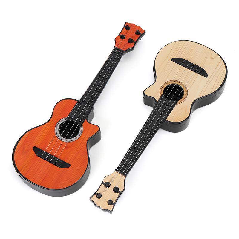 New Musical Plastic Mini Guitar Toy Small Guitar Ukulele Simulation Early
