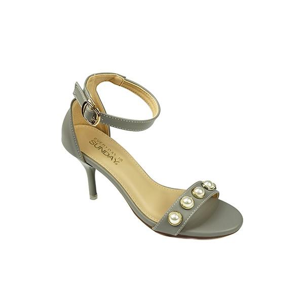 Giày cao gót nữ 7cm SUNDAY - CG29 Xám, Đen, Kem, Nâu