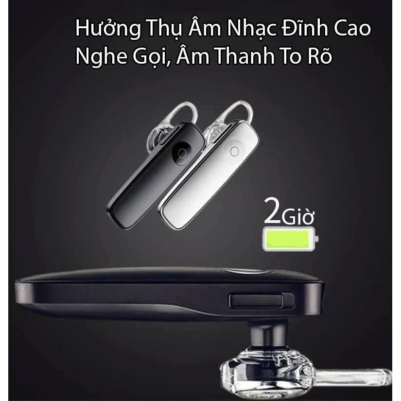 [RẺ MÀ CHẤT] Tai Nghe Bluetooth Thông Minh Tích Hợp Mic M165 Thu Âm Và Truyền Tải Âm Thanh Tốt