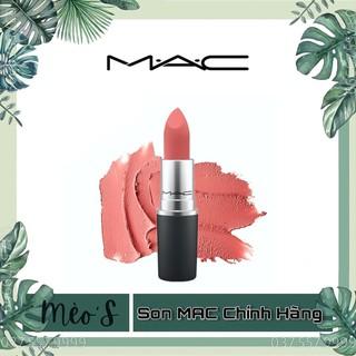 [ ] Son MAC Chính Hãng, Son Mac Matte Powder Kiss Lipstick, Rettro Matte Đủ bill bao check thumbnail