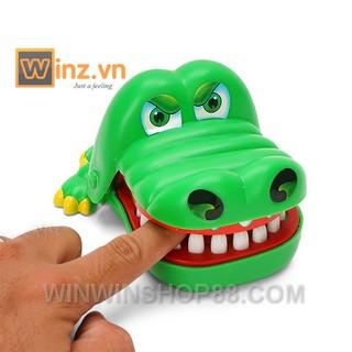 Trò chơi khám răng cá sấu (màu xanh lá) bởi winwinshop88