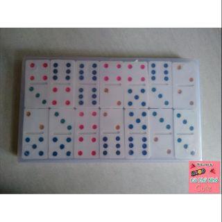 Cờ Domino nhựa trắng