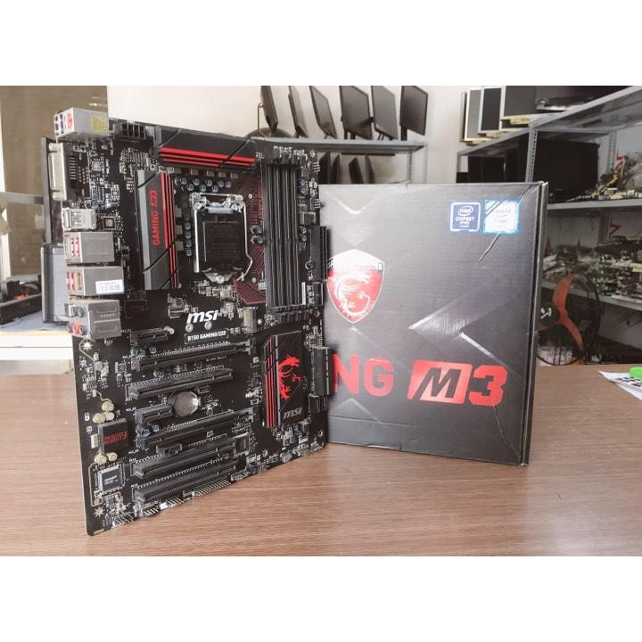 MAIN MSI B150 Gaming 3 BH 12.2019