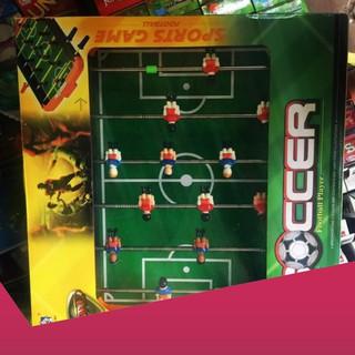 [Rẻ Sập Giá] Bàn bóng đá trẻ em/bộ đồ chơi bi lắc kt 43*32 cm