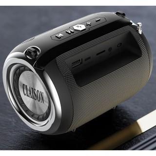 Loa Bluetooth 5.0 Claison S19 Hỗ Trợ Thẻ Micro SD & USB & AUX 1 Loa TREBLE + 2 Loa BASS Tặng Micro Hát Karaoke