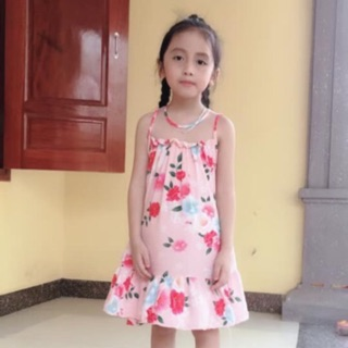 Váy lanh bé gái 15-35kg